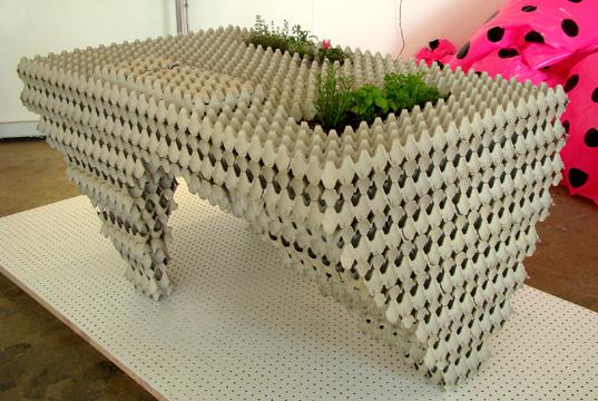 Reciclar clave para una decoraci n moderna - Muebles jardin plastico ...