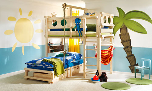 Tendencias en decoraci n de los dormitorios infantiles - Ideas para decorar dormitorio infantil ...