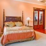 Decoración de dormitorios, el cálido naranja