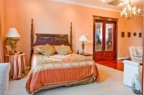 Decoración de dormitorios: el cálido naranja