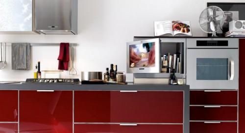 Televisi n en la cocina trabajo y placer - Television en la cocina ...