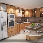 Ubicación del horno y el microondas