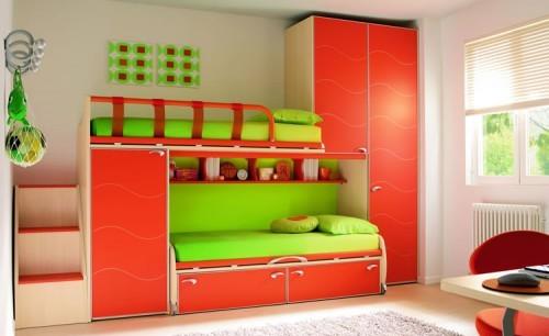 Camas marineras en habitaci n m ltiple - Habitaciones infantiles marineras ...