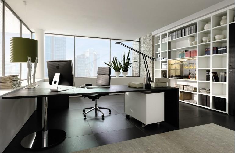oficina de la casa