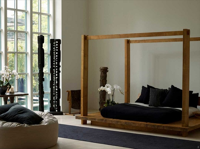 Dormitorio Zen ~ Equilibrio Zen en el dormitorio Hoydecoracion com