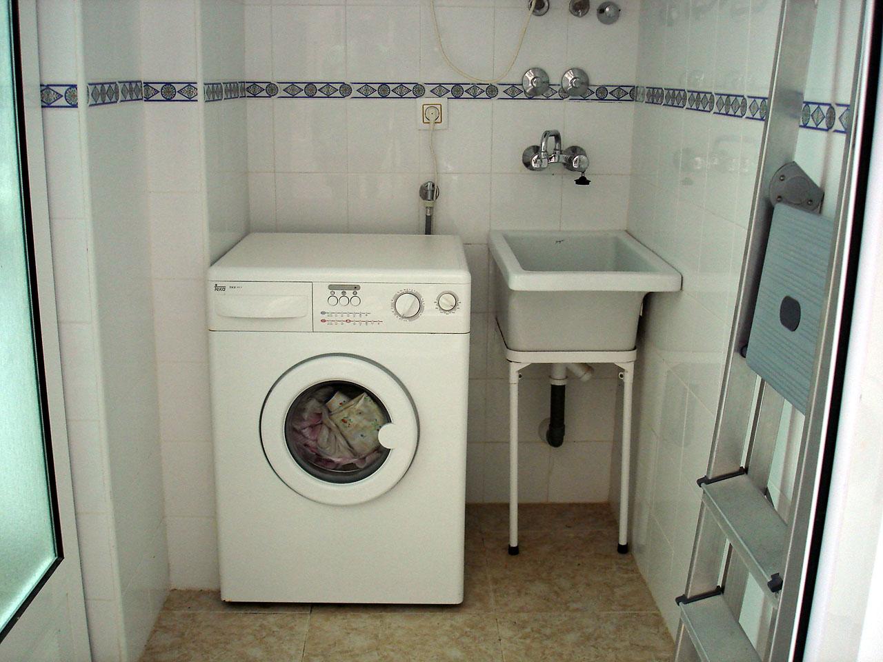 orden en el lavadero