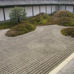 Decorando un jardín Zen