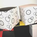 Usando cubos organizadores para decorar